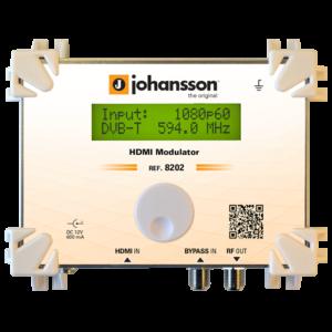 Johansson 8202 Modulador COFDM HD HDMI