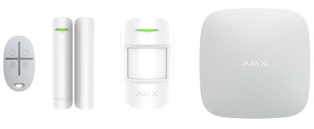 Ajax alarma vía radio