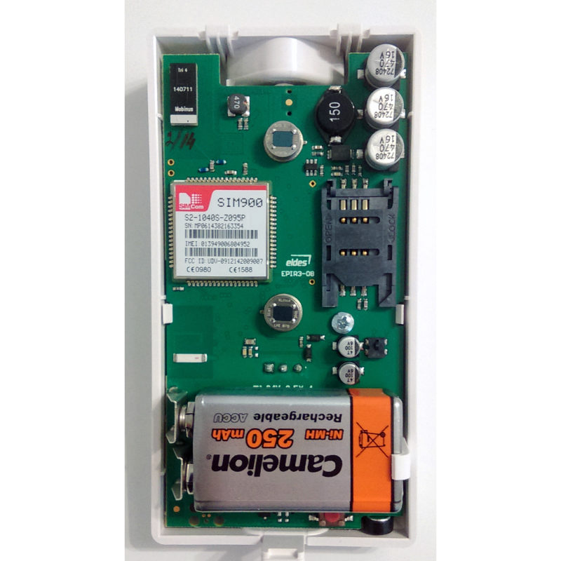 Eldes EPIR3 sensor alarma GMS pitbull