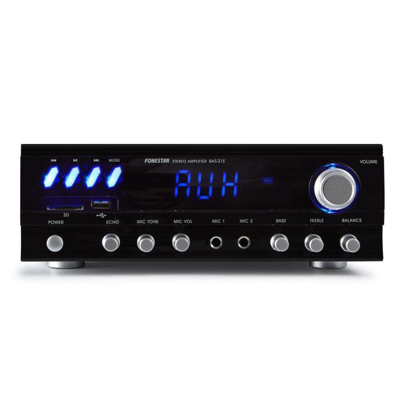 Fonestar BAS-215 Amplificador estéreo
