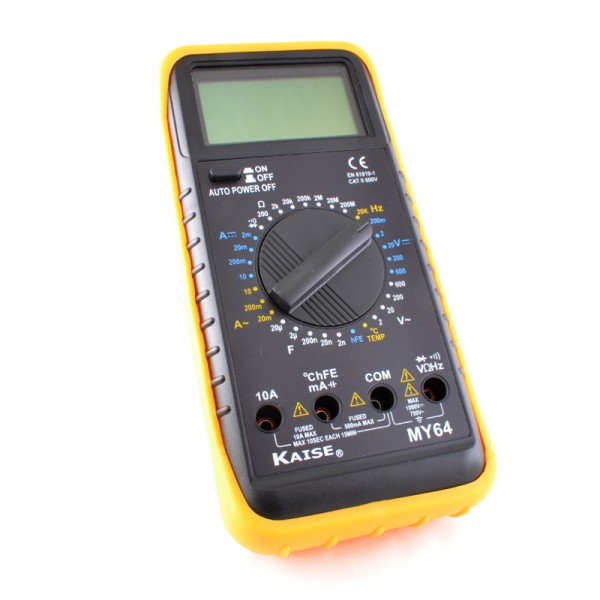 Kaise MY-64 Tester multímetro digital