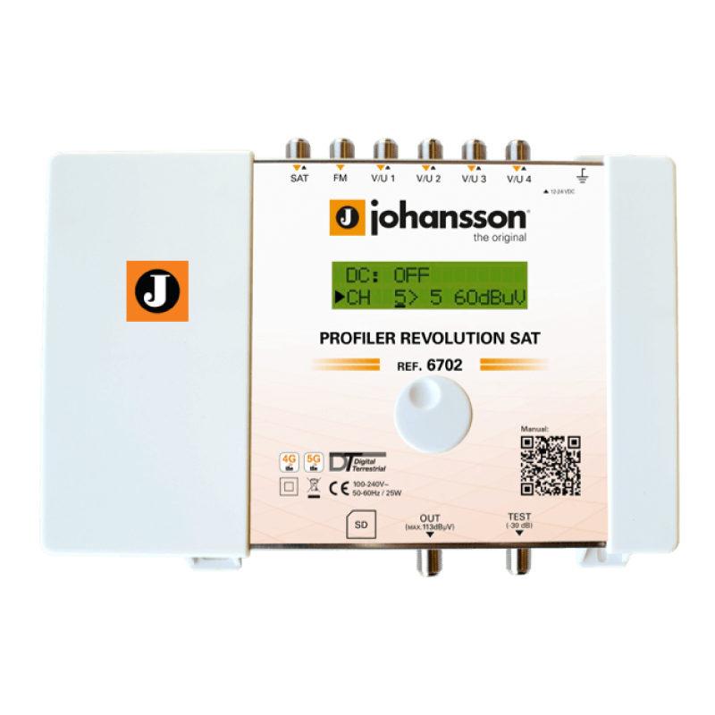 Johansson 6702 central profiler