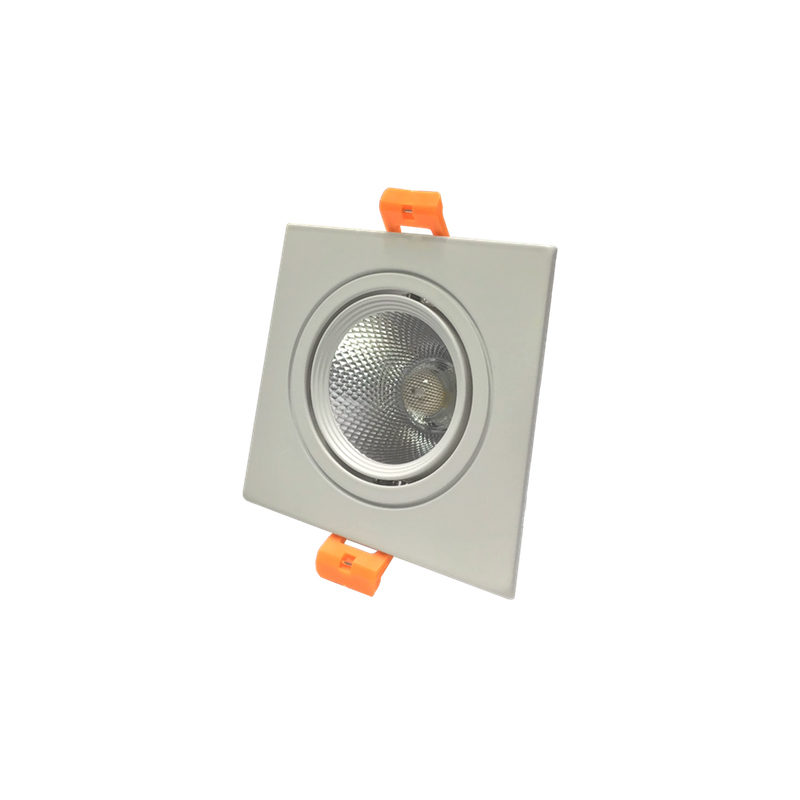 Kadylux mini downlight cuadrado basculante