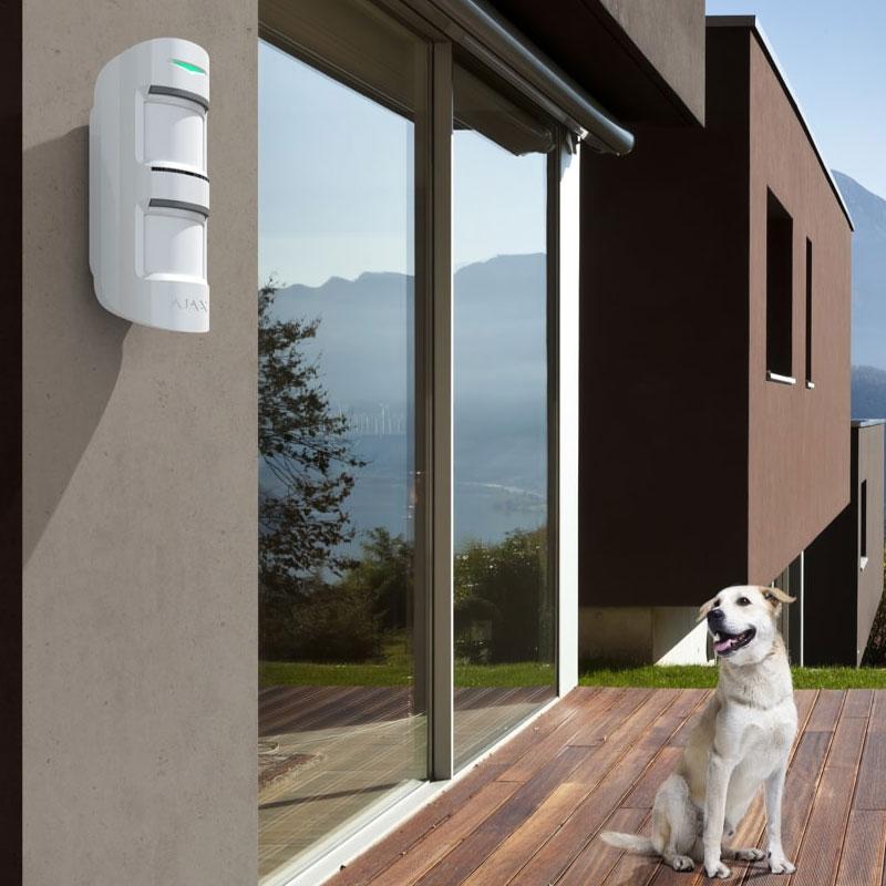 Ajax detector exterior anti mascotas